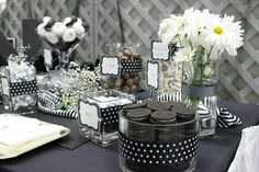 Cute black and white theme