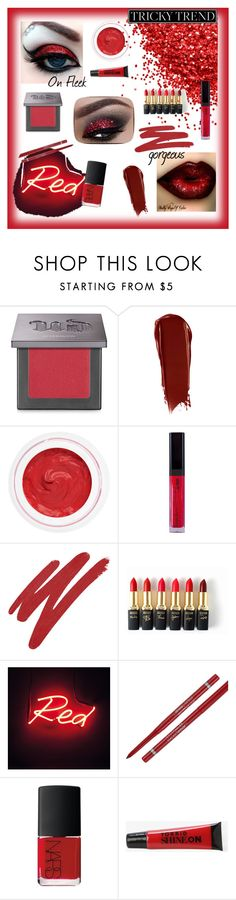 """""""Red Eyes"""" by diamond-angle ❤ liked on Polyvore featuring beauty, Urban Decay, NARS Cosmetics, rms beauty, L'Oréal Paris, Maybelline, Torrid, red, eyes and lips"""