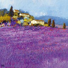Wild Lavender, Provence Prints by Hazel Barker at AllPosters.com
