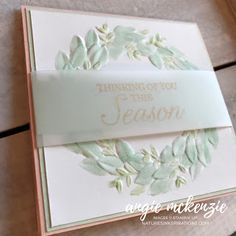 by APMCreations - Cards and Paper Crafts at Splitcoaststampers Stampin Up Christmas 2018, Christmas Cards 2018, Christmas Greeting Cards, Holiday Cards, Hand Stamped Cards, Stampinup, Winter Cards, Paper Cards, Scrapbook Cards