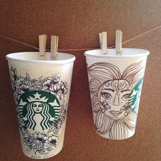 Art by jennncoco. #WhiteCupContest