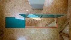 Stair Case Study House 06, Gerd Streng Architekt, Aufsicht Treppenelement