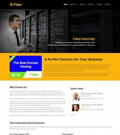 hosting-bootstrap-website-template