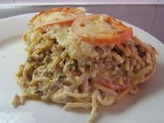 Finnish Recipes, Pasta Dishes, Spaghetti, Food And Drink, Meat, Chicken, Baking, Dinner, Ethnic Recipes