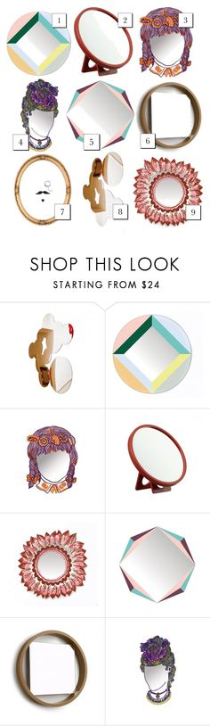 """""""Which mirror is your favorite?"""" by lovethesign-eu ❤ liked on Polyvore featuring interior, interiors, interior design, home, home decor, interior decorating, DOMESTIC, Authentics, Home and mirror"""