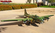 Memphis Belle Supersize B-17 Bomber RC Warbird Airplane - Radio Controlled Supersize B-17 Bomber Military Plane - RC