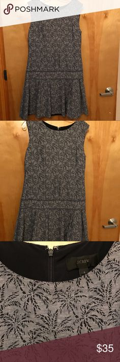 J. Crew drop waist dress. Flattering drop waist dress. Fully lined J. Crew Dresses