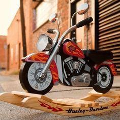 Если Ваш малыш слишком крут для любой старой лошадки-качалки, подарите ему этот байк!  Изготавливается на заказ по меркам вашего ребенка. По желанию можно изменять дизайн подарка. Заказать можно на сайте http://guberniya.su/items/mototsikl-kachalka