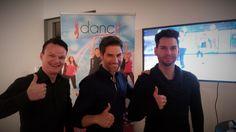 """Christian Polanc, bekannt aus Let´s Dance und Steppingout, hat uns """"danceit"""" vorgestellt, sein neues Fitnessprojekt. Tanzen & Fitness machen Spass. Neugierig? Dann findest Du unter http://www.dancit.de/ alle Infos. #polanc #WissenIstmehr #steppingout #dancit #dance #fun #letsdance"""