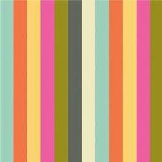 Iza Pearl Design - Cabana Blooms - Stripes in Multi looks like my favorite coach fabric!
