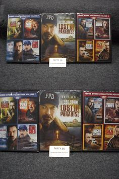 cds dvds vhs: Jesse Stone Complete Series Collection All 9 Movies Dvd Brand New -> BUY IT NOW ONLY: $59.0 on eBay!