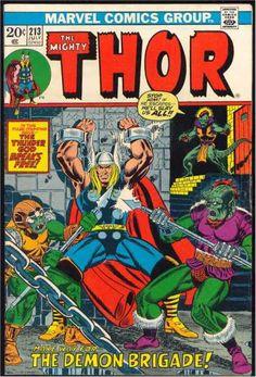 Demon Brigade - Alien - Thunder God Breaks Free - Spears - Viking