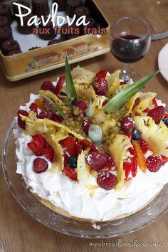 Maxi Pavlova pour un dessert maxi effet !