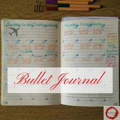 Scarlet Moon Creations: Bullet Journaling for self care, productivity and small business