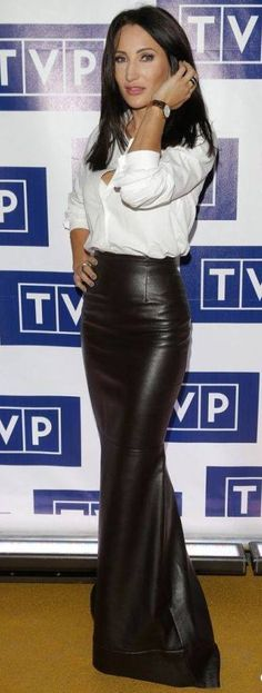 What a fantastic Leather skirt                                                                                                                                                                                 More