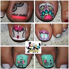 Toe Nail Designs, Toe Nails, Summer Nails, Nail Art, Turquoise, Instagram, Pretty, Margarita, Beauty