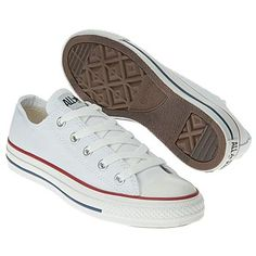 Athletics Converse Men's Chuck Taylor All Star Lo White/White FamousFootwear.com/ men's size 5