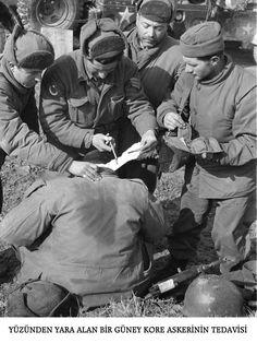Kore Savaşı Fotoğrafları - Korean War Photos - Turk Askerleri - Turkish Army - Sağlıkla ilgili resimler - Health Service 20