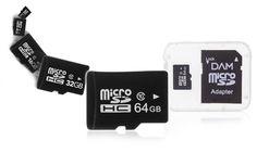 Groupon Goods Global GmbH: Micro SD DAM clase 10 con adaptador desde 1 € o conjunto de 2 desde 3,48 € (hasta 83% de descuento)