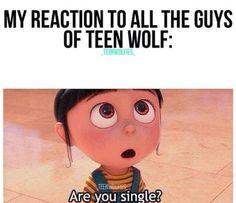 all teen wolf guys r cute