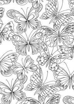 379 Best Coloring Butterflies And Bugs Images Print Coloring