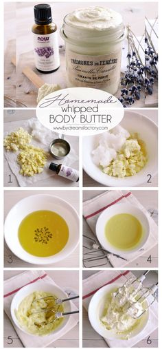 A luxurious homemade whipped body butter with only 4 ingredients, that you customize as you wish with your favorite essential oils - Dreams Factory
