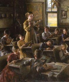 village school by Morgan Weistling