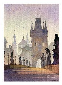 Thomas W. Schaller - Work Zoom: charles bridge - prague 1