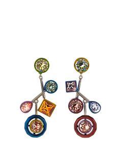 Atelier Swarovski by Peter Pilotto earrings | Peter Pilotto | MATCHESFASHION.COM US