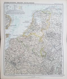 Antique Maps For Sale Printed Displays Geography In - Us maps for sale