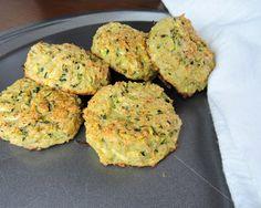 Cheesy zucchini biscuits:)