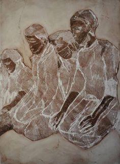 """Saatchi Art Artist Myriam Dib; Printmaking, """"Hope"""" #art"""