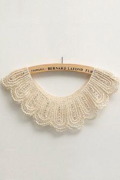 ADD ONCollar |  Elegent Vintage Lace Collar.