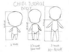 drawings of anime chibi step by step - Google Search