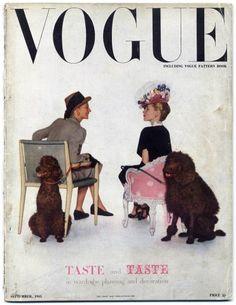 British Vogue September 1945 Taste and Taste in Wardrobe Planning and Decoration