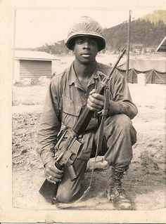 Vietnam War, black soldier, male, helmet, boots, sapira, photography, serious, silent, soldat, portrait, NEVER Forget, hero, portrait, history, photo