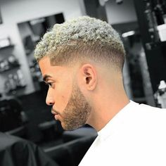 Platinum Blonde Faded Hair hair styles for women Cool Short Hairstyles, Black Men Hairstyles, American Hairstyles, Cool Haircuts, Afro Hairstyles, Haircuts For Men, Black Boys Haircuts, Hairstyles Pictures, Men's Haircuts