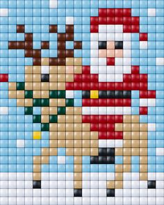 #xmas #christmas #pixels #pixelXL #pixel.gift #pixelhobby Pixel Crochet, Crochet Cross, Crochet Chart, Mini Cross Stitch, Cross Stitch Charts, Cross Stitch Patterns, Christmas Perler Beads, Christmas Cross, Cross Stitching