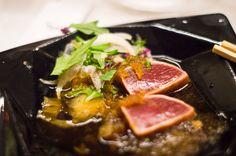 Tonno rosso crudo Tataki Chirizu - Chef Shinichiro Takagi   Italia e Giappone, le eccellenze si incontrano a #LARTE