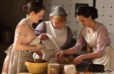 Downton Abbey and Highclere Castle interiors - kitchen