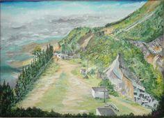 La Cantera Abandonada Acrílico sobre lienzo 35 cm * 25 cm Dic-2013 Dic, Golf Courses, Painting, Canvases, Pintura, Painting Art, Paintings, Painted Canvas, Drawings
