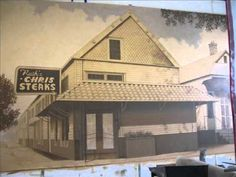 Step by Step Mural of Original Ruth's Chris Steakhouse in New Orleans video by Marc Potocsky MJP Studios