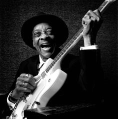 Hubert Sumlin by Sandro Miller, a renowned Chicago blues artist, and listed by Rolling Stone as #43 on its best guitarists of all time.