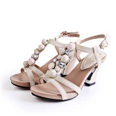 2012 summer popular bohemian retro style low heel rehinestone womens sandals