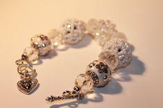 Jesse James Beads Handmade Bracelet by Ladybug4LuckCreation, $15.00