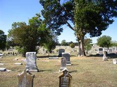 Willow Wild Cemetery  Bonham  Fannin County  Texas  USA