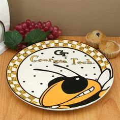 Georgia Tech Yellow Jackets Gameday Ceramic Plate