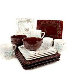Laurie Gates Dinnerware