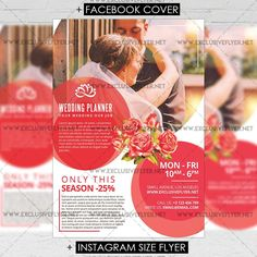 Wedding Planner - Premium A5 Flyer Template https://www.exclusiveflyer.net/product/wedding-planner-premium-a5-flyer-template/