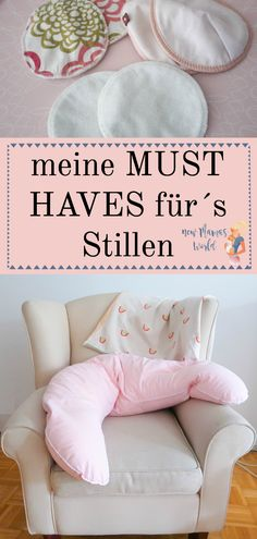 MUST HAVES für´s STILLEN www.newMamasWorld.de #Stillen #breastfeeding #stillsessel #stillkissen